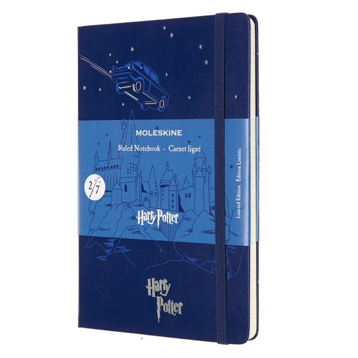 Hardcover Large Harry Potter Blue i gruppen  Papir & Blokk / Skrive og ta notater / Notisbøker hos Pen Store (100465)