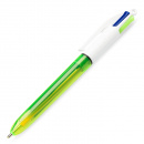 4 Colours Fluo Multi Ballpoint Pen