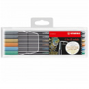 Pen 68 Metallic 6-set