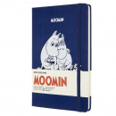Hardcover Large Moomin Blue Ruled