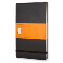Reporter Hardcover Large Black Ruled
