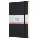 Art Bullet Notebook Large Black